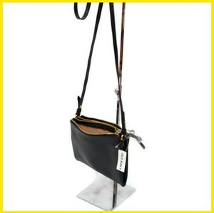 Dual-Zip Crossbody Purse